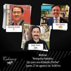 """Red Turismo Chile participará en Webinar """"Reimpulso Hotelero: Ejes para una Activación Efectiva"""""""