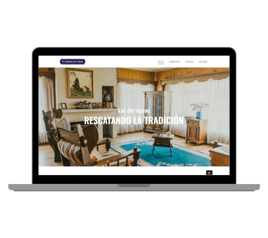 Diseño Web en Turismo Hostal